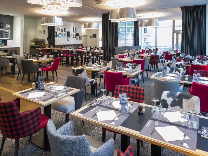 Aménagement et architecture d'intérieur du restaurant casino JOA URIAGE par Studio Divo