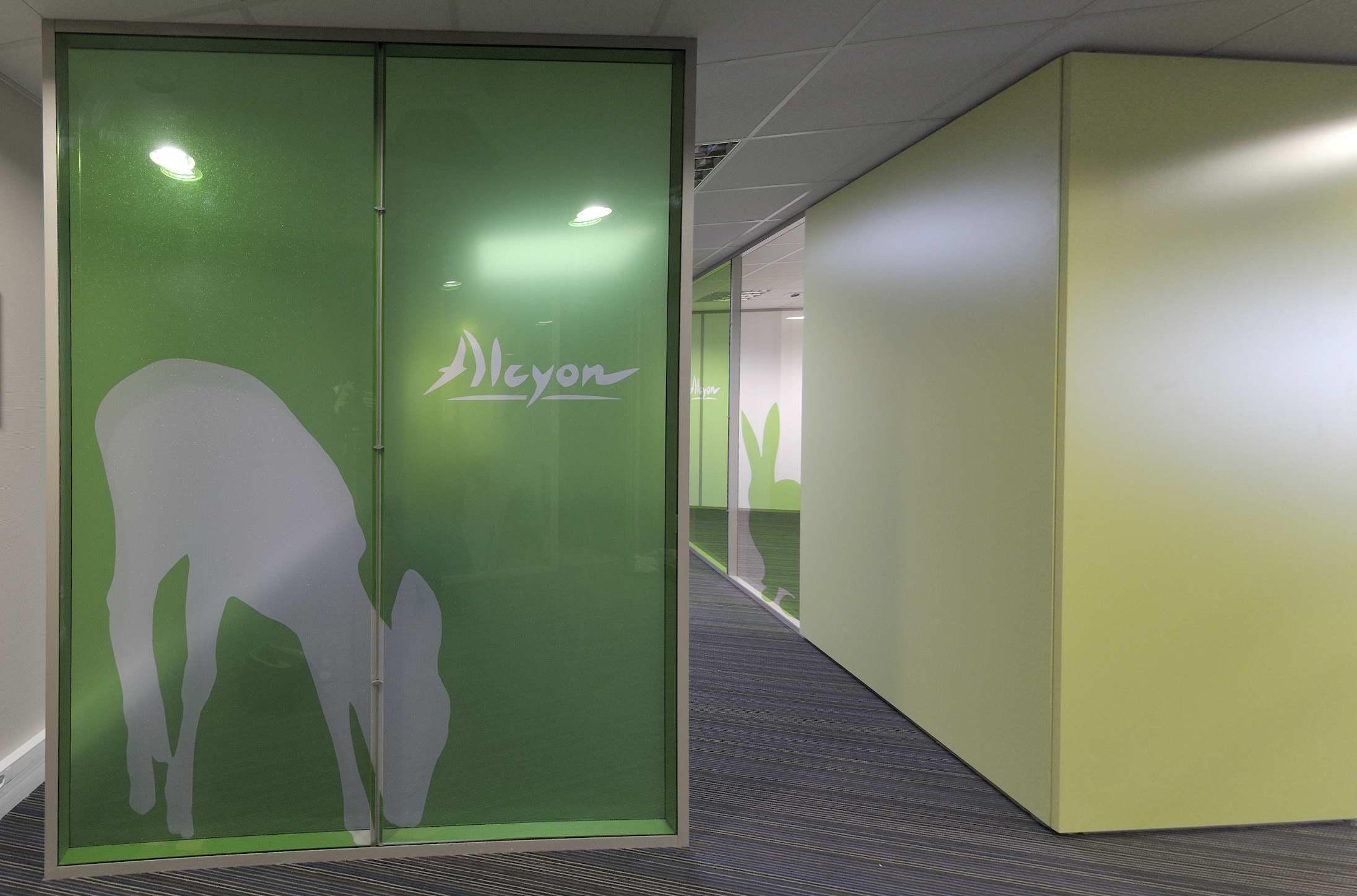 Aménagement et architecture d'intérieur du siège social de Alcyon par Studio Divo