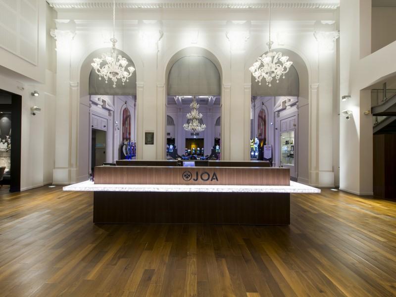 Aménagement et architecture d'intérieur des salles de jeu du casino JOA URIAGE par Studio Divo