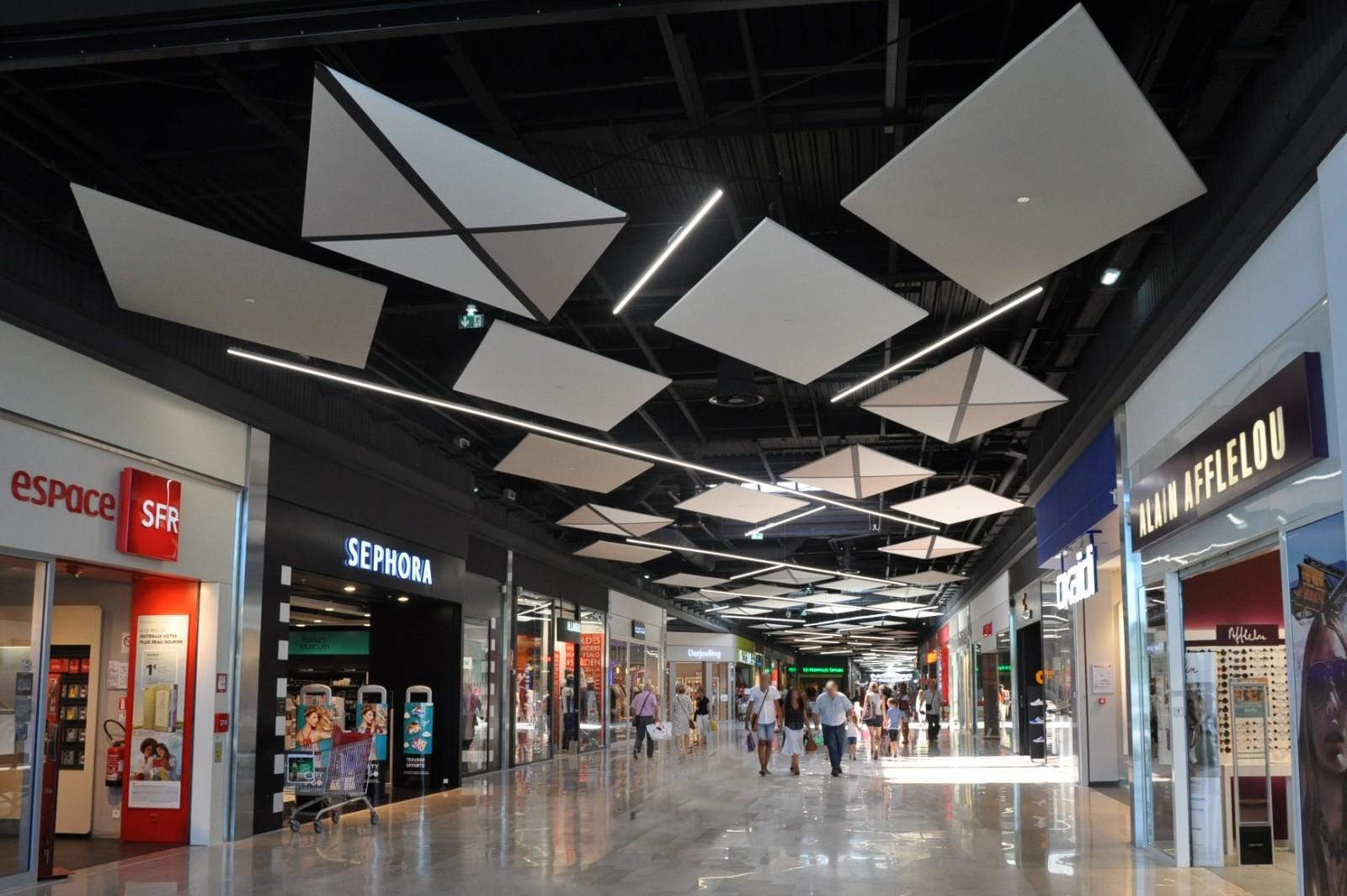Galerie Auchan Villars - Studio Divo - Architecture d'intérieur